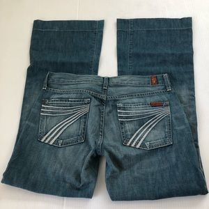 7 for all mankind Dojo Jeans, 28 x 30